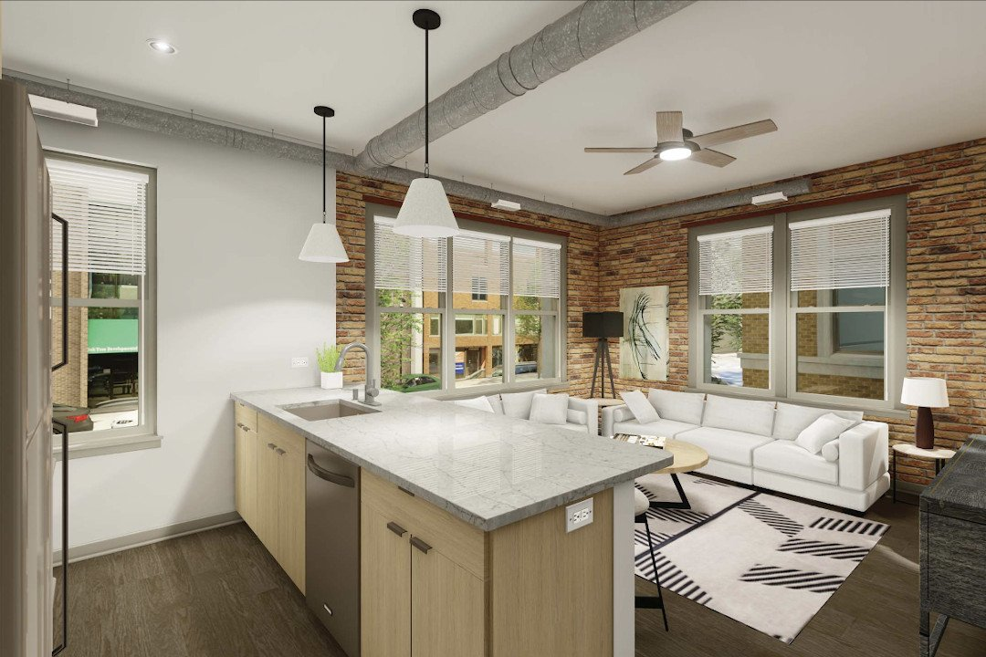 1645 Wells Street Chicago IL | Gut Rehab Project | Kinzie Builders